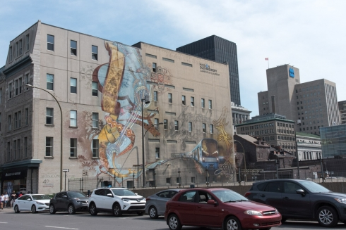 Street Art in Montreal
