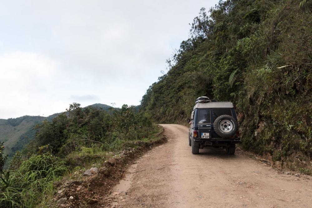 Highway 64 zum El Cocuy Nationalpark