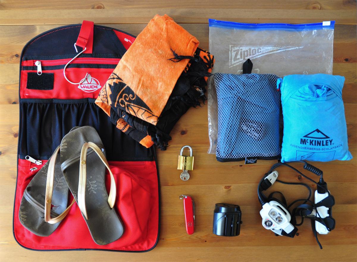 10 Dinge die auf keiner Backpacking Packliste fehlen sollten