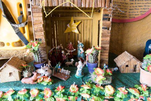 Weihnachtsdeko bei Luz Mila