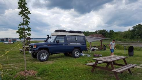 Campingplatz in Leclerville