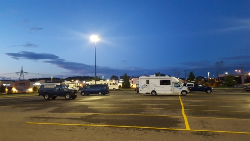 Walmart Camping bei Quebec City
