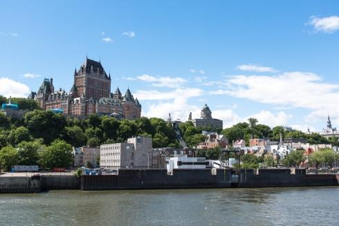 Blick auf die Altstadt von Quebec City