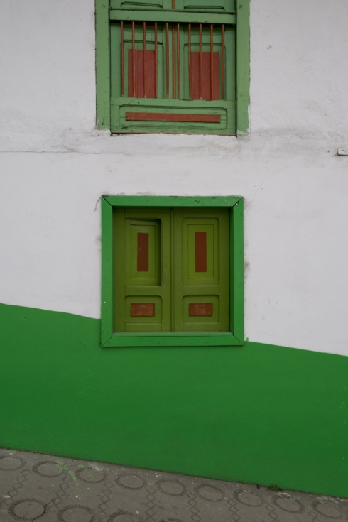 Bunte Fassaden in Salento