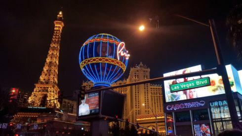 Silvester in Las Vegas
