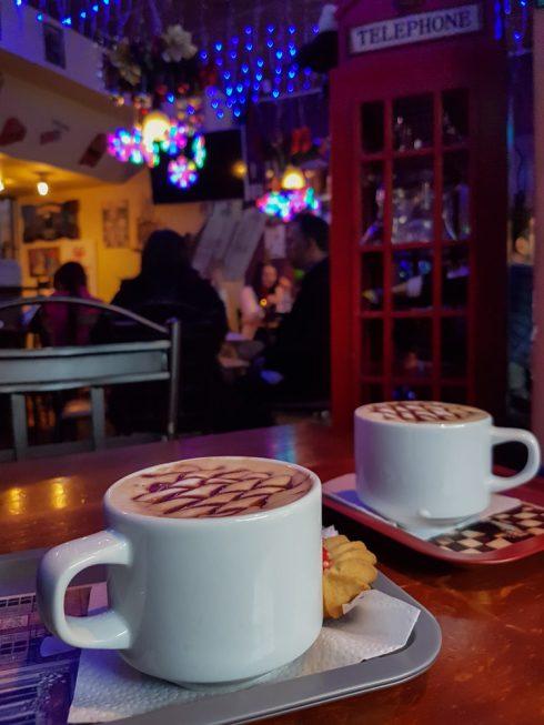 Kaffee im Café London