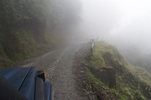Trampolin de los muertos - Death Road