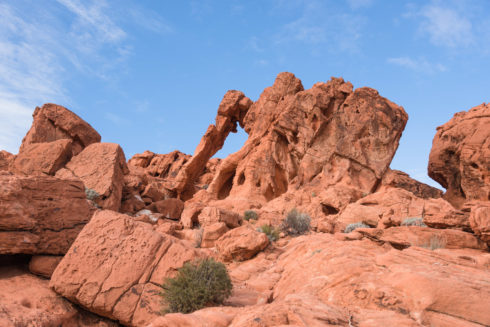 Elephant Rock - Valley of Fire State Park