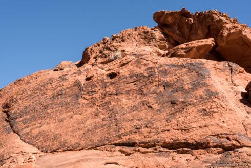 Petroglyphen im Valley of Fire