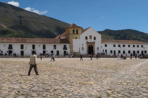 Der größte Hauptplatz Kolumbiens
