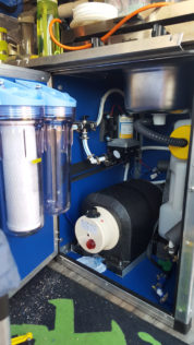 Installation Wasserfilter